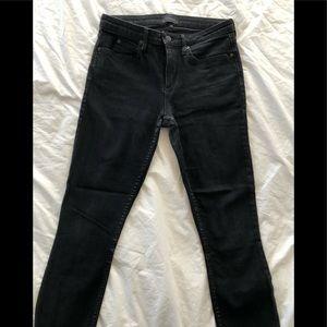 Theory Black Skinny Jeans - size 28
